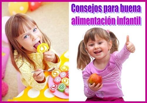 Consejos para lograr una buena alimentación infantil