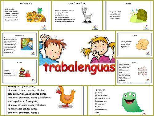 Trabalenguas infantiles divertidos para niños de primaria