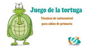 Juego de la tortuga para trababjar técnicas de autocontrol para niños de primaria