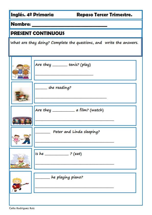 Clases De Ingles Para Niños De Cuarto Grado De Primaria Niños Relacionados