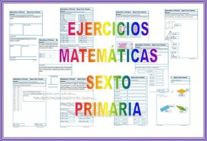 ejercicios de matematicas para sexto de primaria para resolver
