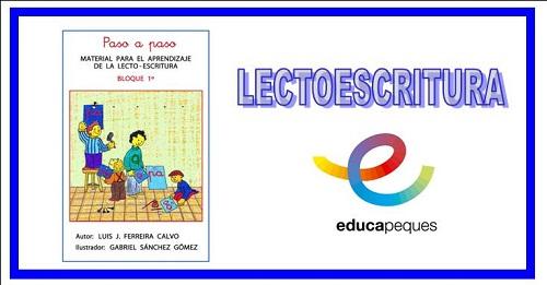 Material aprendizaje lectoescritura