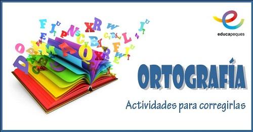 Ortografía, lengua, lenguaje, actividades primaria, lengua primaria
