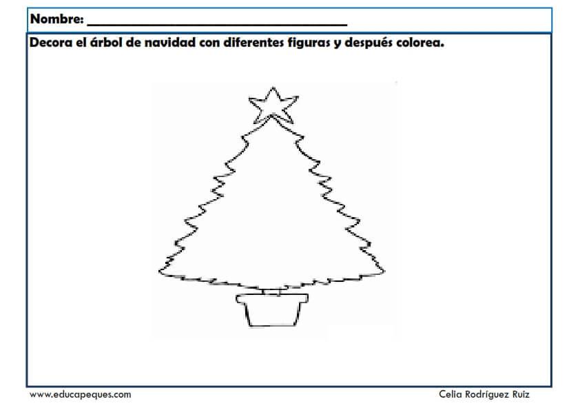 Fichas De Dibujos De Navidad.Fichas Infantil Navidad Fichas Para Aprender Y Divertirse