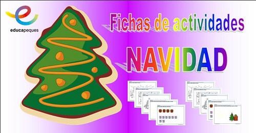 Fichas Infantil Navidad Fichas Para Aprender Y Divertirse