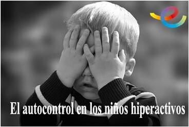 Autocontrol niños hiperactivos