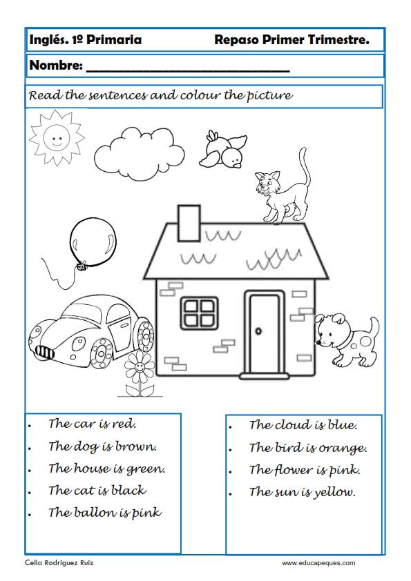 Aprende y Repasa Inglés Primaria. Niños 6-7 años