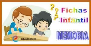 Fichas memoria en niños