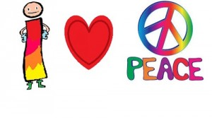 las vocales en el día de la paz