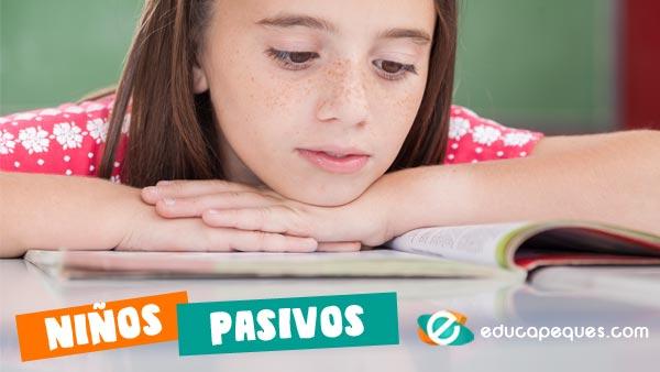 niños pasivos, acoso escolar