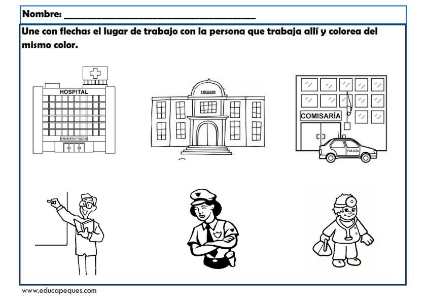 Encantador La Comunidad Para Colorear Ilustración - Dibujos Para ...