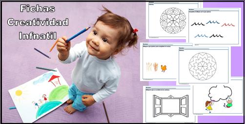 Fichas de creatividad infantil