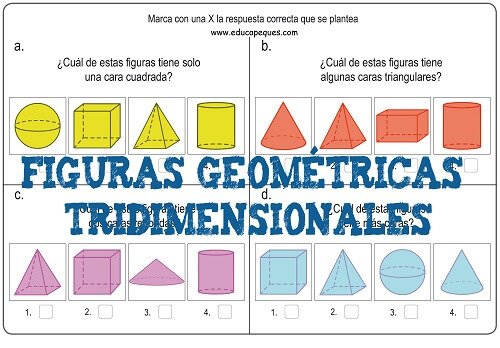 figuras geométricas tridimensionales