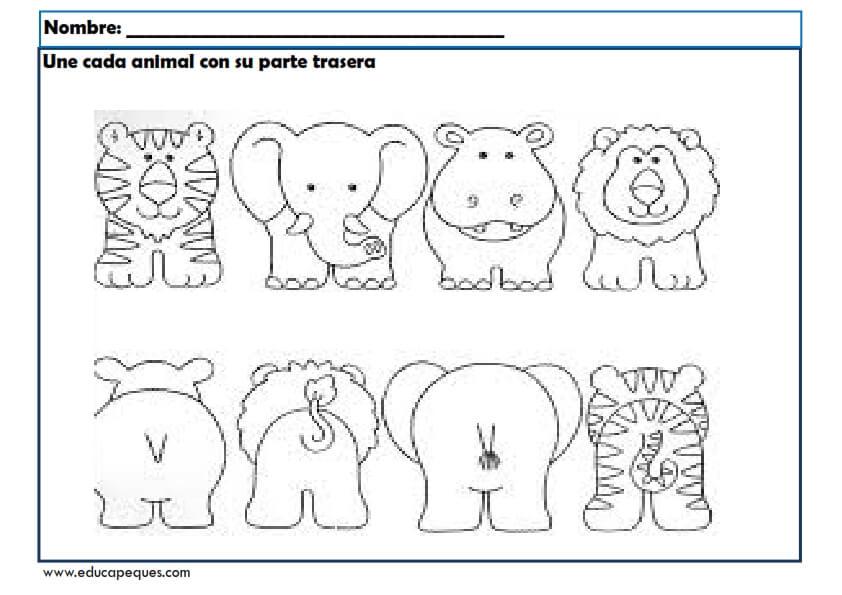 Fichas para mejorar la atenci n en educaci n infantil for Actividades para jardin infantil