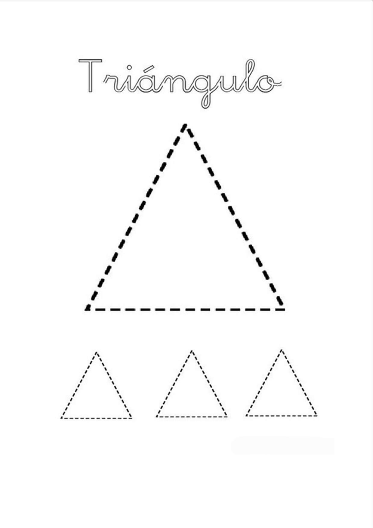Triangulos Para Colorear Para Preescolar Slubne Suknie Info
