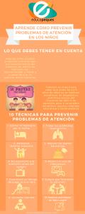 Infografía: Prevenir problemas de atención en los niños