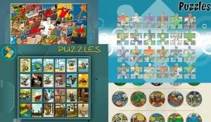 Puzzles, rompecabezas