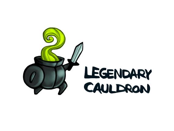 Logo Legendary Cauldron