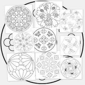 Mandalas Para Pintar Beneficios De Las Mandalas En Los Niños