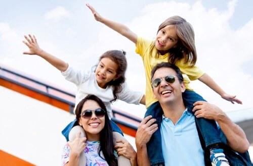 viaje con niños, vacaciones con niños