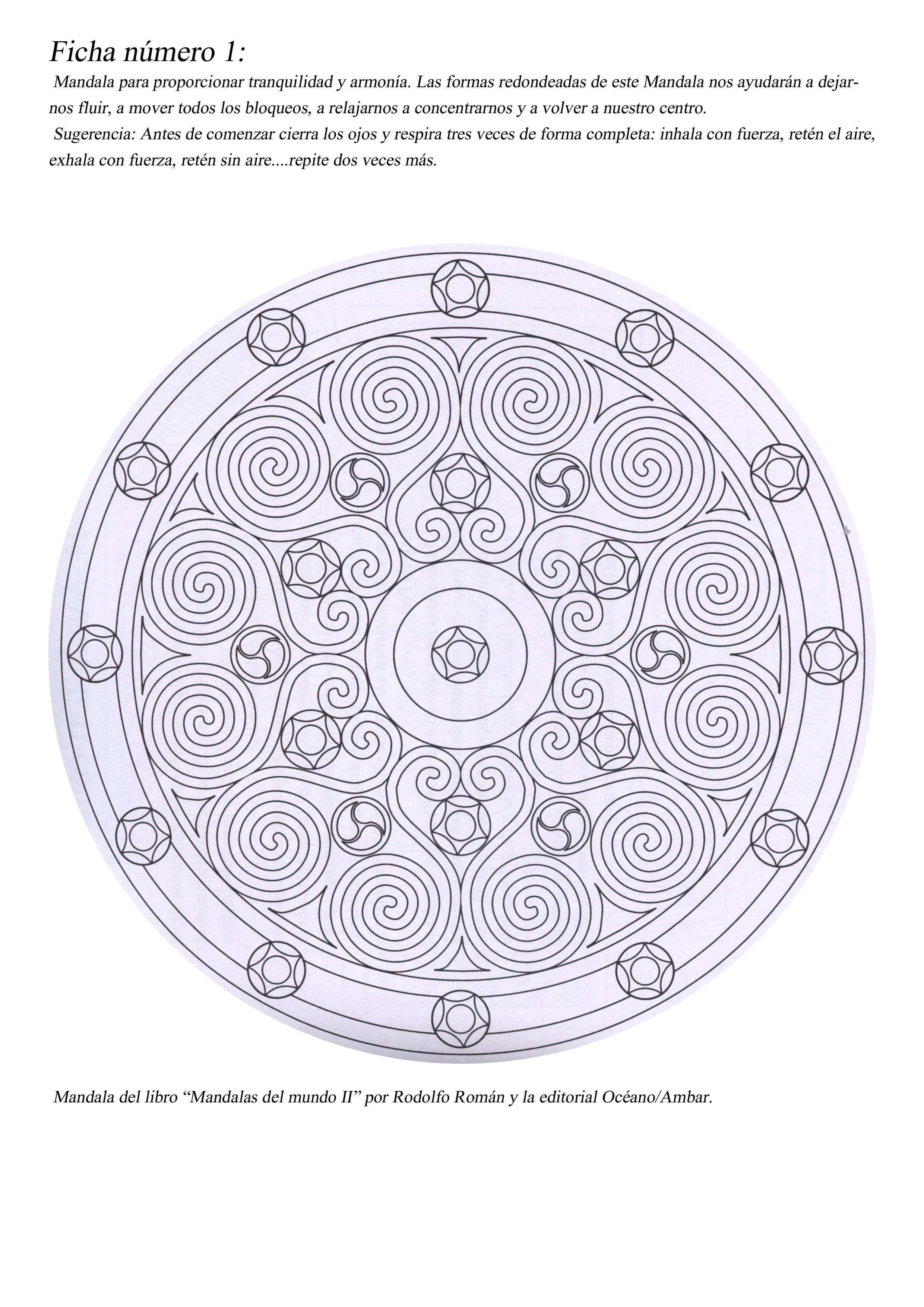 27 Mandalas para colorear】Consejos para trabajar con Mandalas