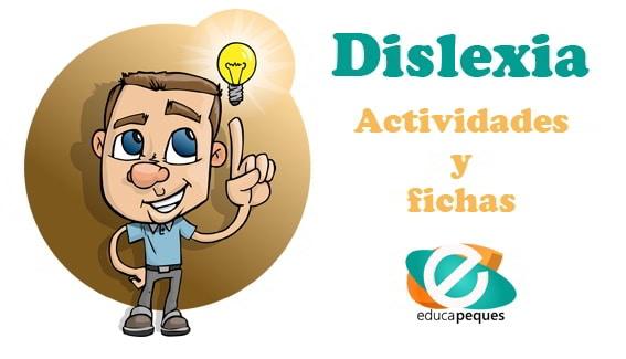 Actividades y fichas para trabajar la dislexia