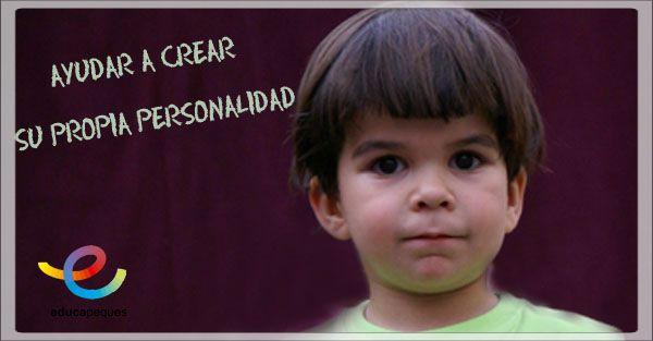 ¿Cómo ayudar a los niños a crear su propia personalidad