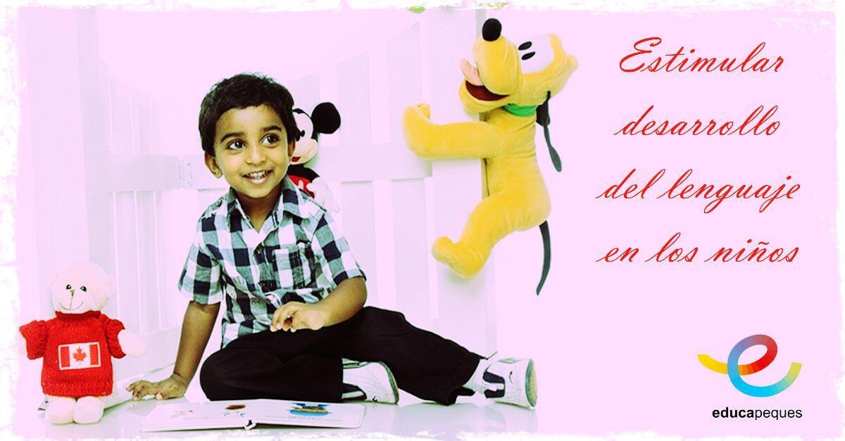 fomentar el lenguaje en niños