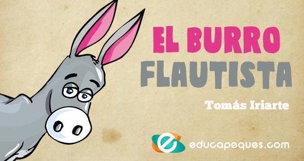 El Burro Flautista Fábula Infantil Por Tomás Iriarte