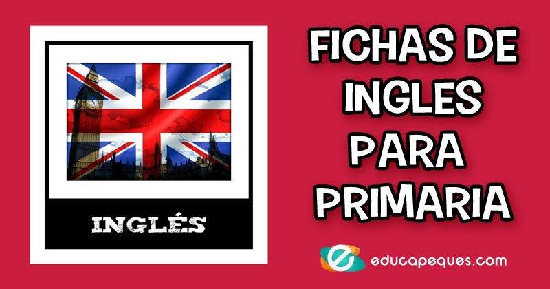 ejercicios de inglés para primaria