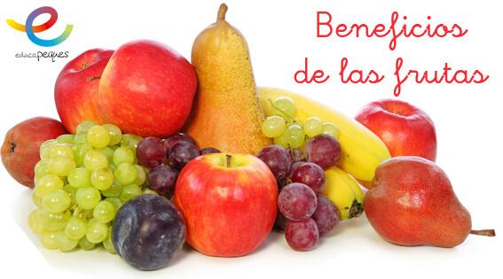 Conoce Los Beneficios De Las Frutas Fichas Infantil Y Primaria