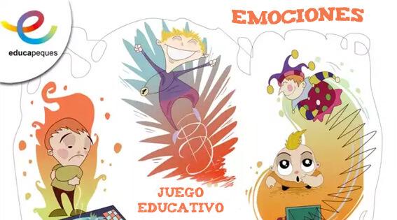 juego educativo, juego para niños, actividades aula, recursos educativos, recursos para el aula, emociones niños