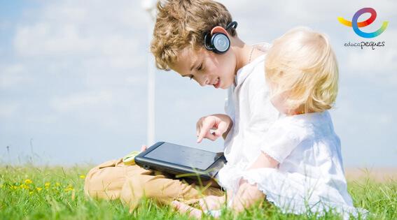 niños y la tecnologia equilibrio