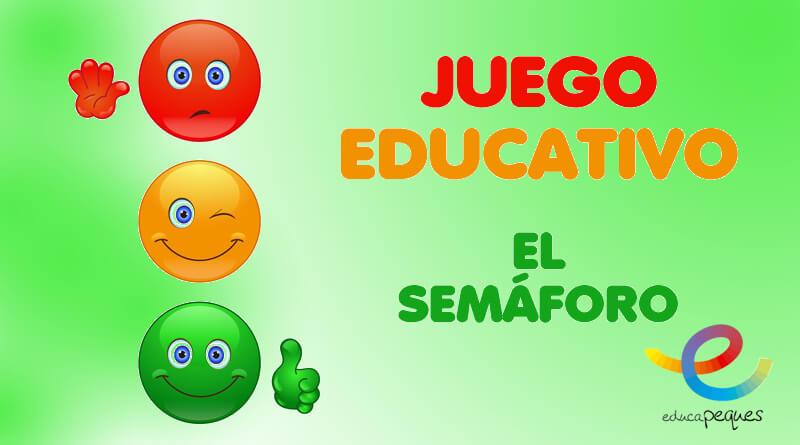 Juego Educativo Juego Del Semaforo