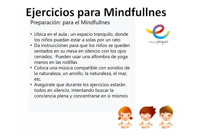 Ejercicios de Mindfullness 1