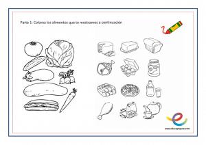 Hábitos De Alimentación Sana Para Niños Pequeños Fichas