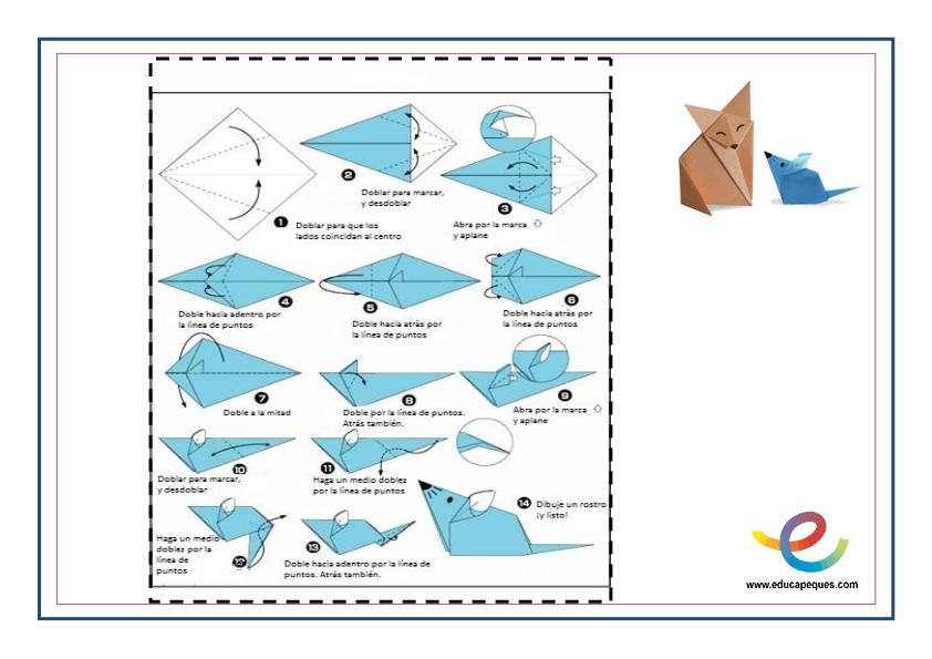 fichas moldes papiroflexia 4