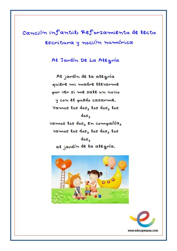 Fichas cancion infantil recurso educativo _004