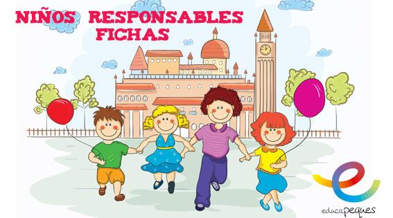 FICHAS RESPONSABILIDAD EN NIÑOS