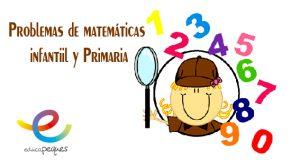 problemas de matemáticas, ejercicios de matemáticas, matemáticas infantil, fichas de matemáticas