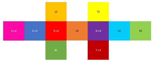 rayuela de las multiplicaciones