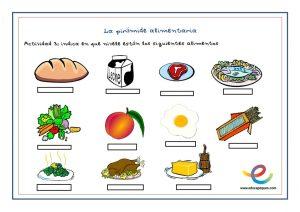 Pir mide alimenticia en ni os la base de una alimentaci n sana - Piramide alimenticia para ninos para colorear ...