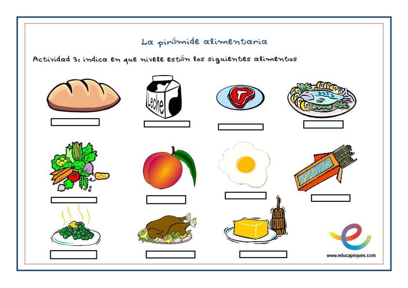 Pirámide nutricional, ¡Conócela para una buena alimentación sana!
