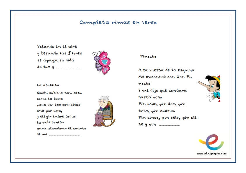 Recursos en poema ruso