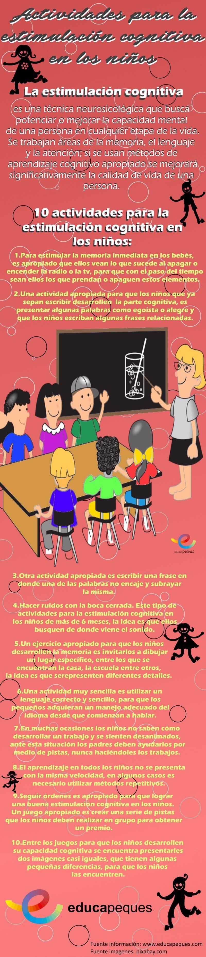 imagenes educativas actividades estimulación cognitiva