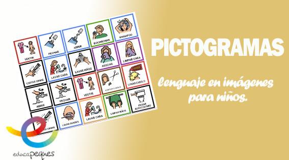 Pictogramas El Lenguaje En Imagenes Para Ninos