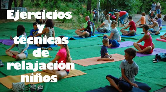 Actividades y ejercicios de relajación para niños