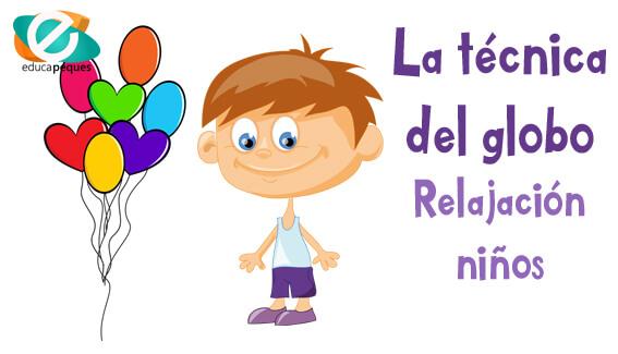 Relajacion Ninos La Tecnica Del Globo En Educacion