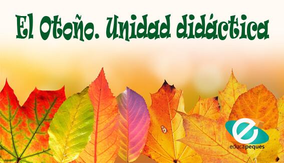 Otoño, estaciones del año, las hojas en otoño, unidades infantil, actividades infantil