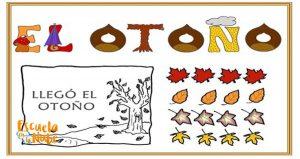 el otoño para niños de primaria